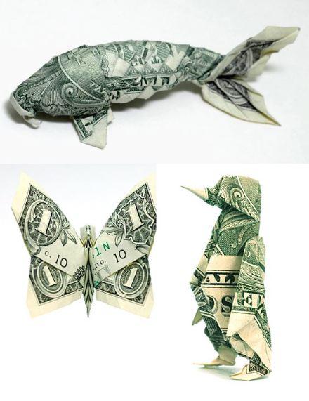Koi money fold | Dollar origami, Origami koi fish, Koi origami | 571x440