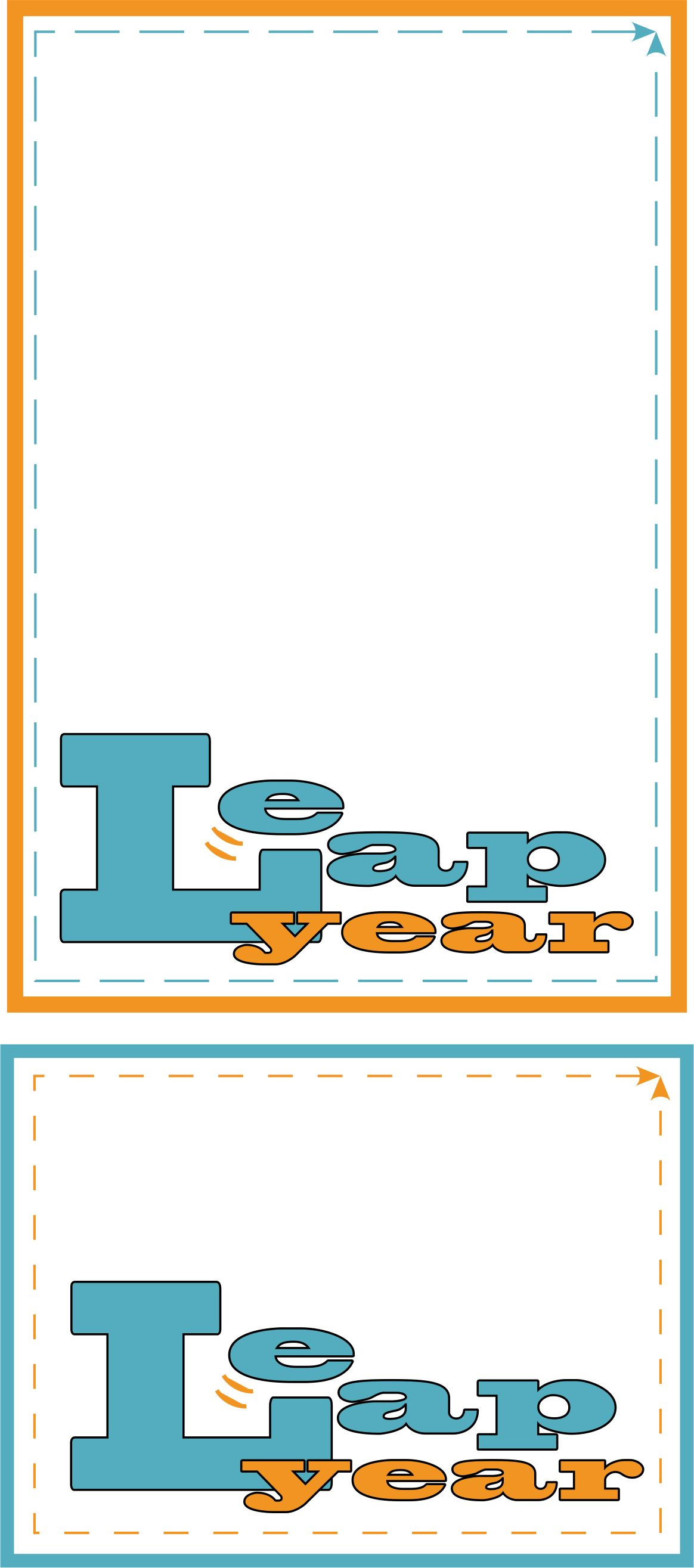 image regarding Leap Year Printable titled Bounce Yr Printables spystickyinkymess