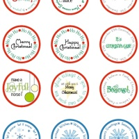 Sunday-right-here - Christmas circle printables