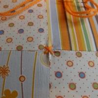 Interesting quilt tying technique