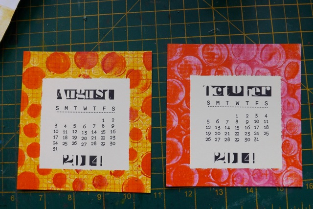 Calendar Making  (5/6)