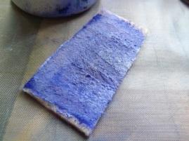 added MORE glaze medium to the pad