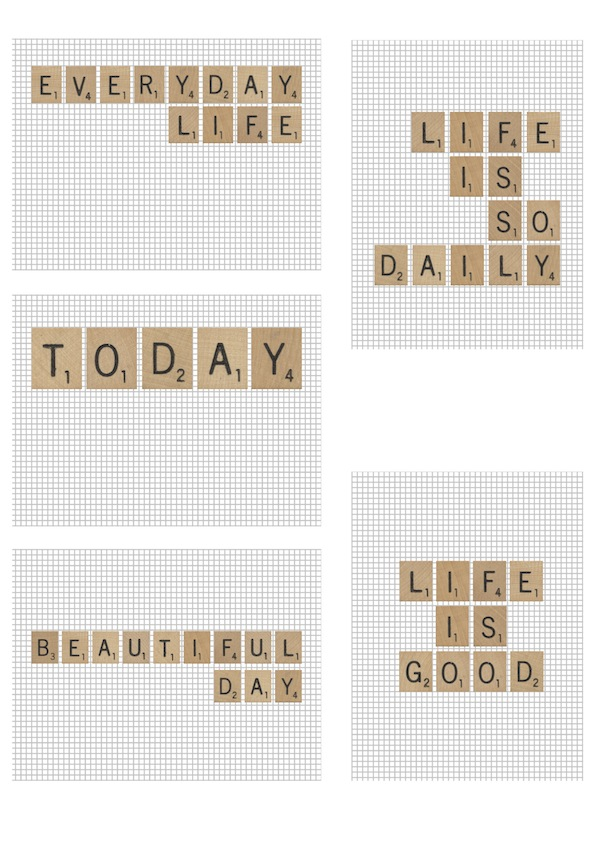 picture relating to Printable Scrabble Tiles identify Scrabble tile printables spystickyinkymess
