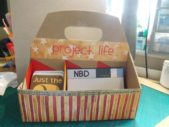 Project Life card holder
