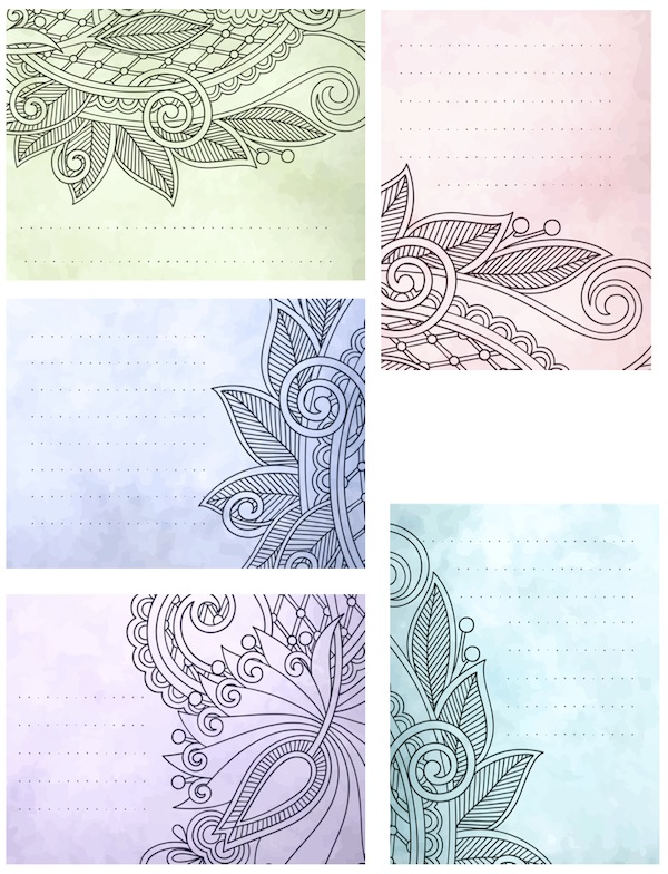 Pretty printables for project life and smaller for for Pretty project