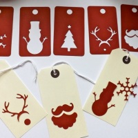 Christmas tags - the .svg version