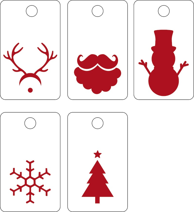 Christmas Tags.Christmas Tags The Svg Version Scrappystickyinkymess