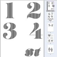More book folding templates