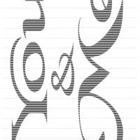 Multi-line cut & fold templates