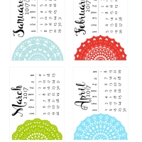 Doily calendars for 2017 - Which one?