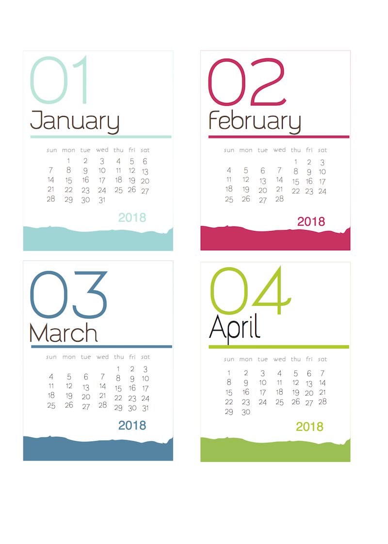 Year Calendar Look : A round up of all my and few calendars so