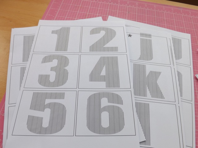 Book folding templates scrappystickyinkymess this post has some templates you can print and use including numbers pronofoot35fo Choice Image