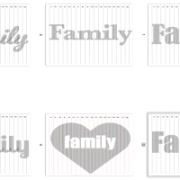 FAMILY book folding templates