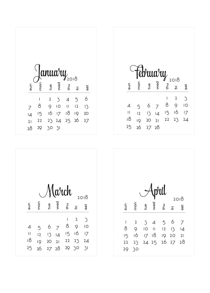 2018 diy calendars decorate it yourself scrappystickyinkymess and you can download that one here solutioingenieria Gallery