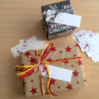 Cute Christmas Tags - easy cut for a change!